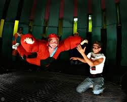 Flyer with instructor - YOU CAN FLY AT FLYAWAY INDOOR SKYDIVING IN PIGEON FORGE, TN