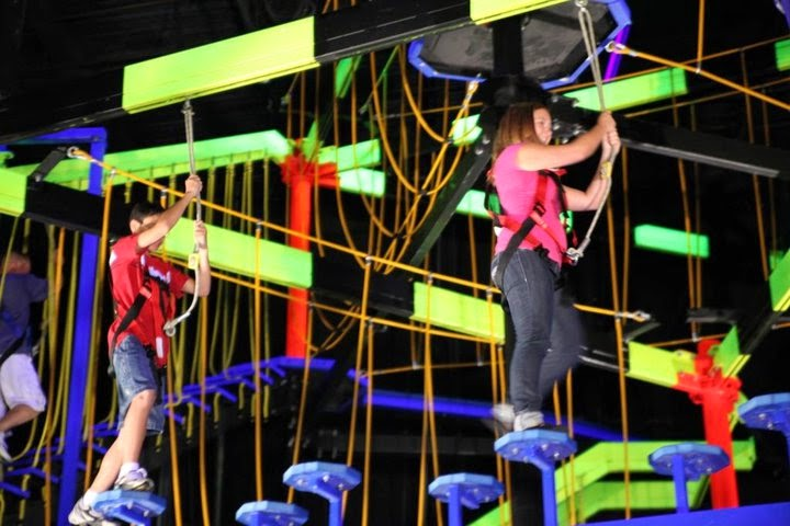 WorldsLargestRopesCourse - WONDERFUL THINGS TO SEE AND DO AT WONDERWORKS