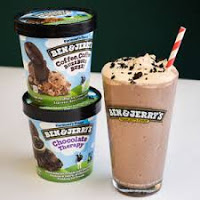 Ben & Jerry's Malts, sundaes and more