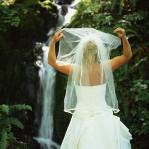 Smoky Mountain Waterfall Wedding