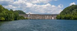 Douglas Dam and lake 300x120 - Scenic Helicopter Tours Smoky Mountains