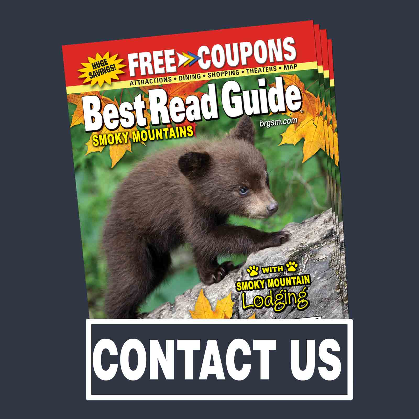 BRG Contact Us General - Contact Best Read Guide - Pigeon Forge Gatlinburg Smoky Mountains