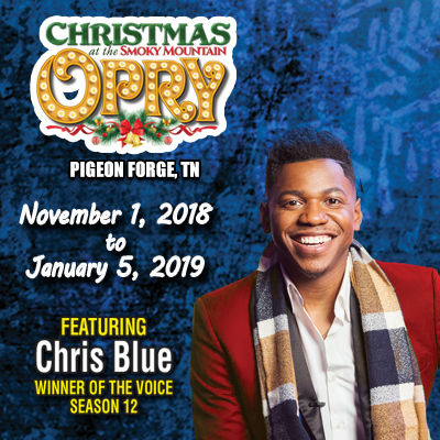 Chris Blue Performs at Smoky Mountain Opry